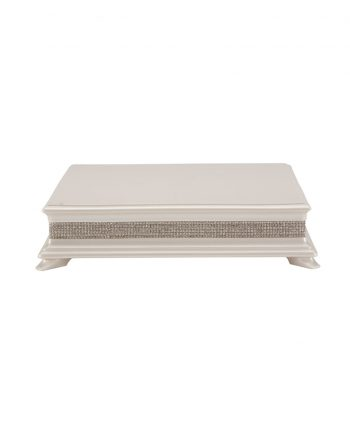 Wood Crystal Cake Stand Square - A Chair Affair