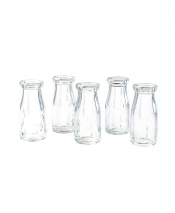 milk bottle vases - a chair affair