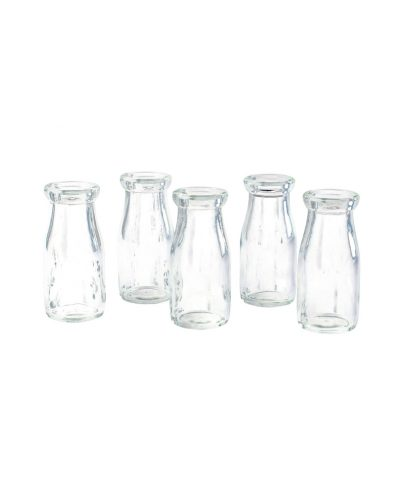 milk bottle vases – a chair affair