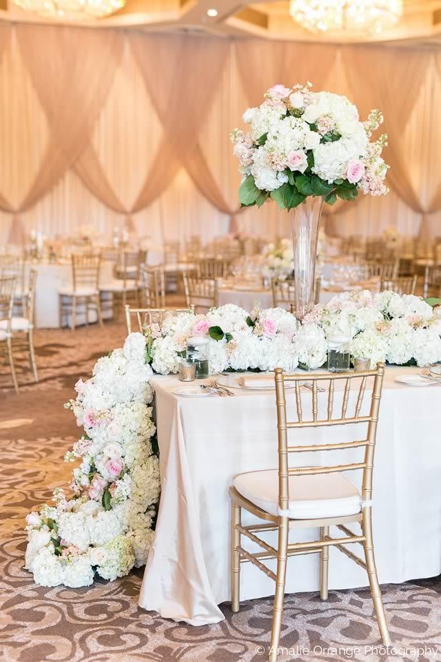 Four Seasons Orlando Wedding Elegant Simplicity - A Chair Affair, Inc.