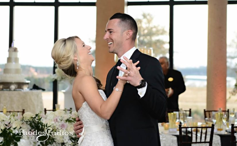 Black and White Bella Collina Wedding