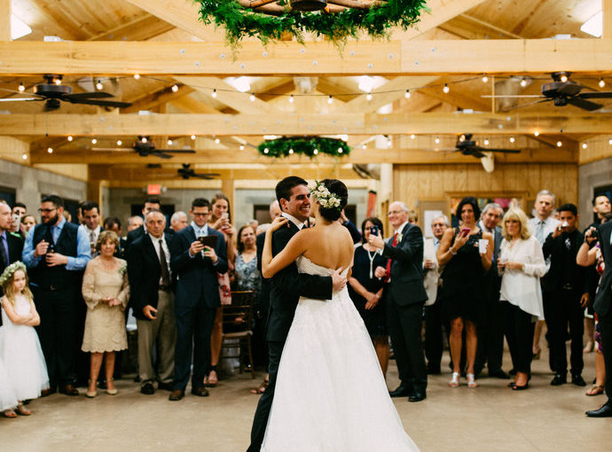 country style wedding first dance