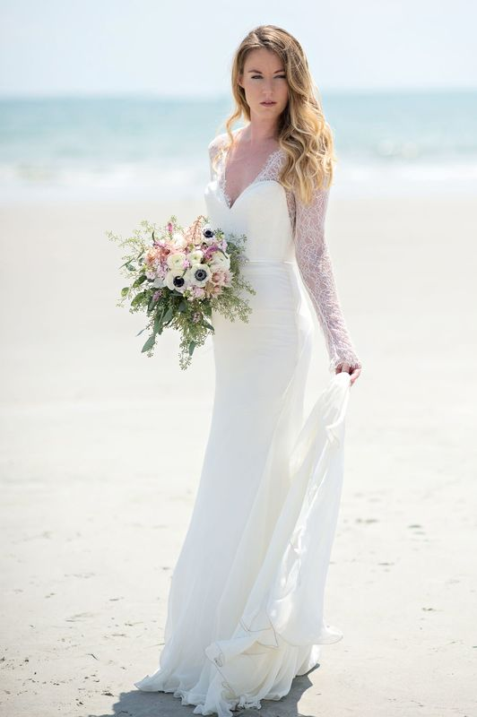 elegant seaside inspired shoot tara keely brides (4)