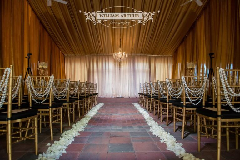 gatsby wedding gold chiavari chairs