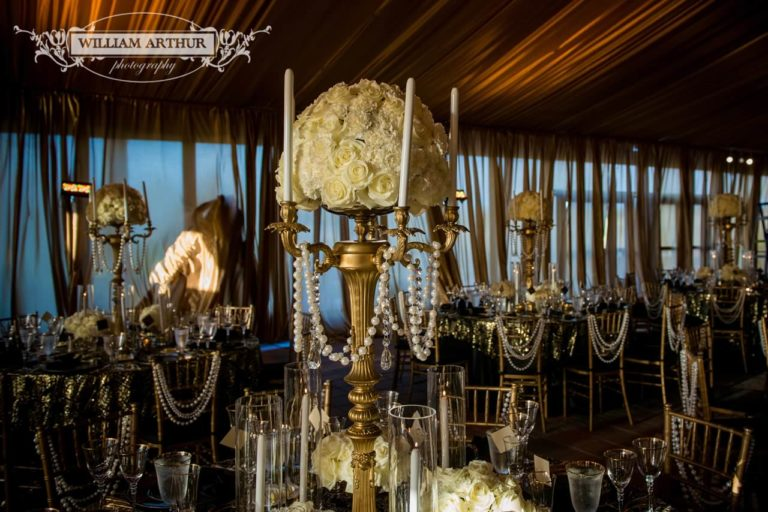 gatsby wedding reception decor