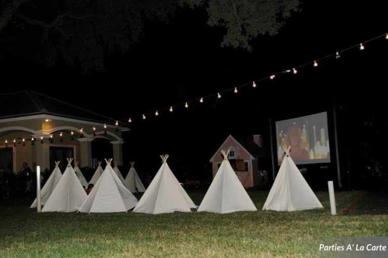 glamping soiree tents