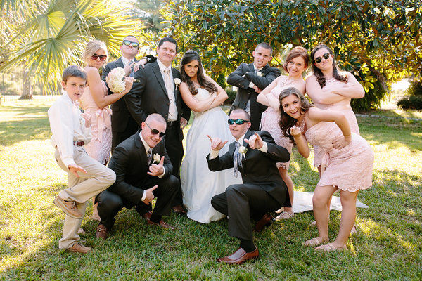 Blush and Gold Sheraton Lake Buena Vista Wedding