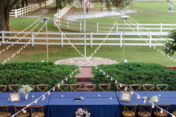 lange farm wedding reception decor