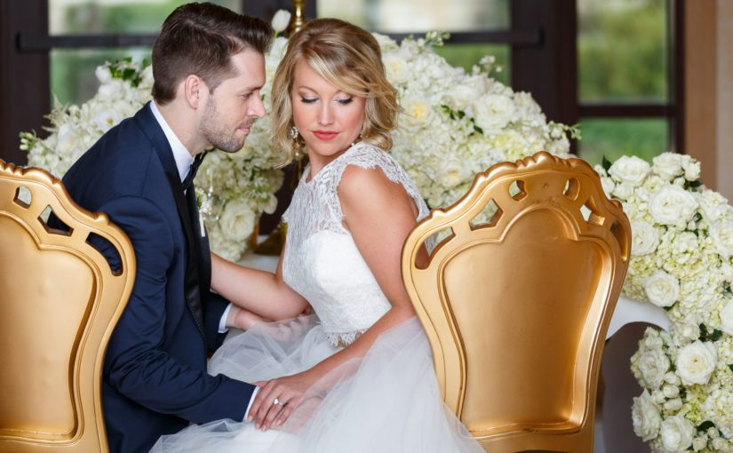 modern elegance styled shoot gold specialty chairs