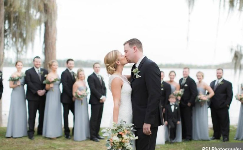 Perfectly Peach Paradise Cove Wedding