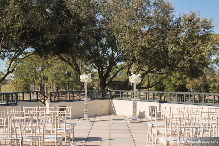 silver and purple wedding ceremony chiavari chairs