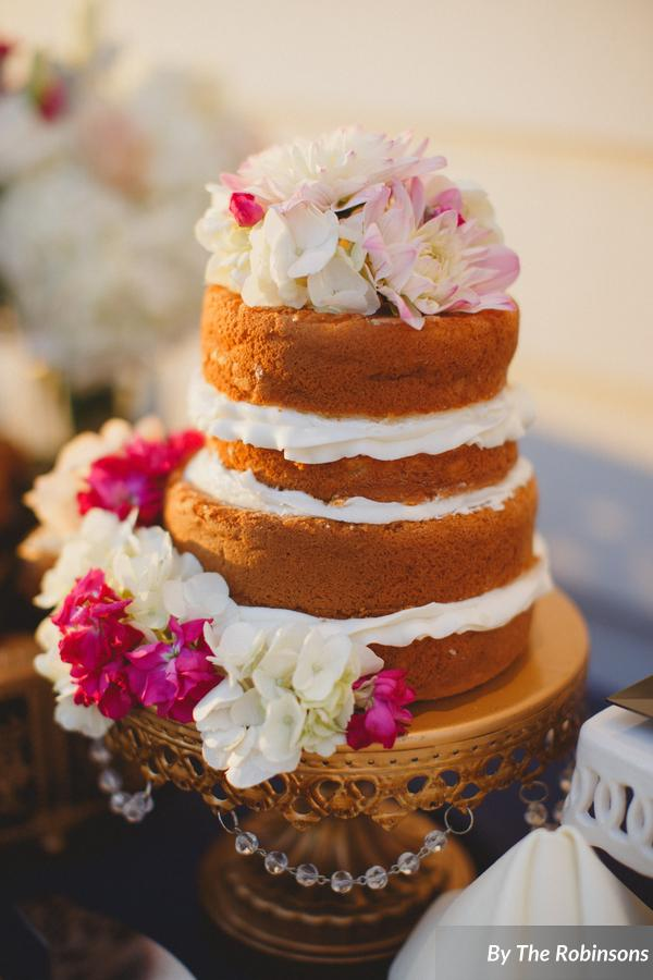 southern elegance wedding cake