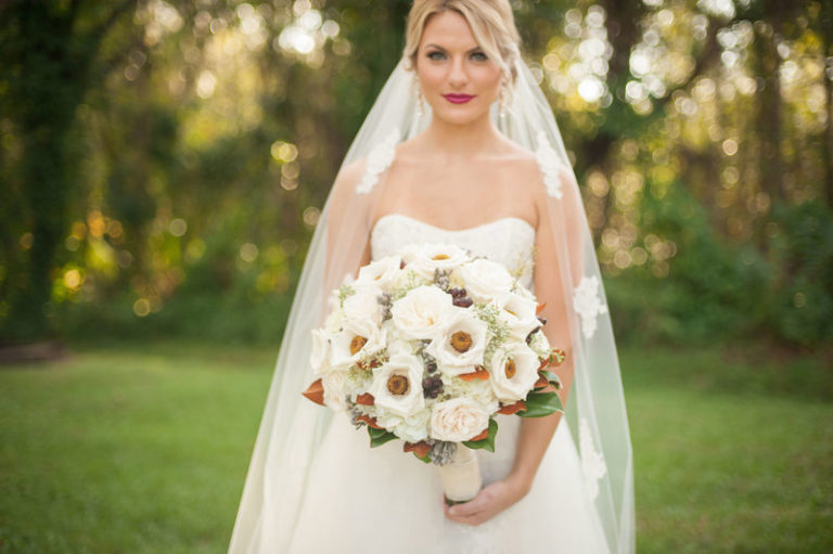 southern elegance wedding inspiration bridal bouquet
