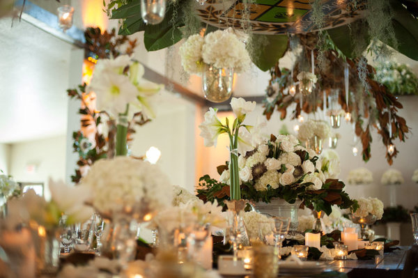 southern elegance wedding inspiration floral decor