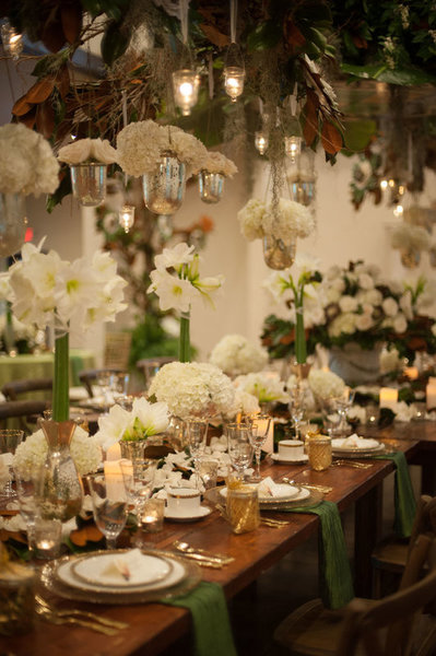 southern elegance wedding inspiration table setting