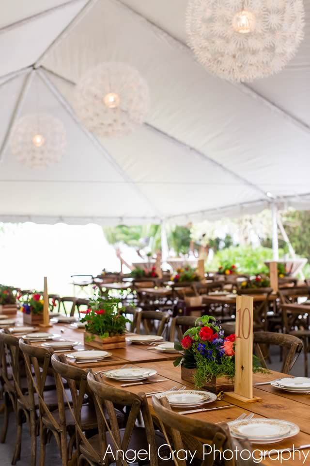 vibrant spring wedding french country chairs china