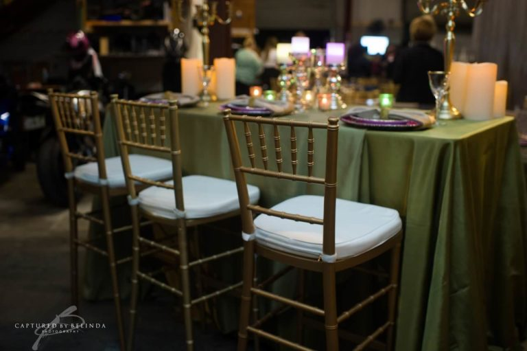 wedding reception design gold chiavari chairs (2)