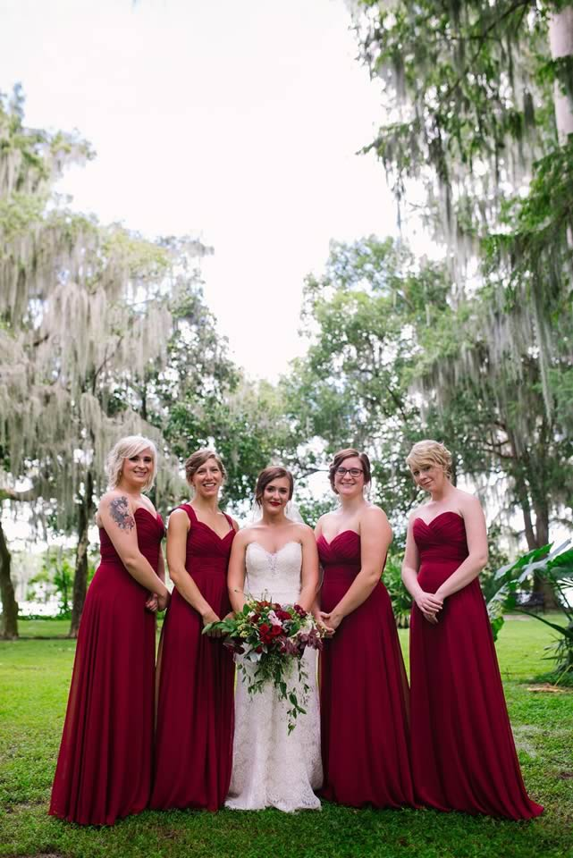 winter park farmers market wedding bridesmaids