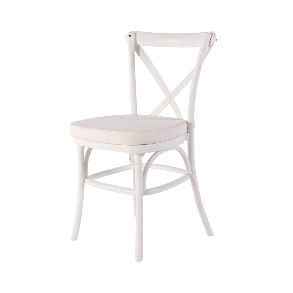 White French Country Chair