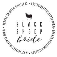 black sheep bride badge