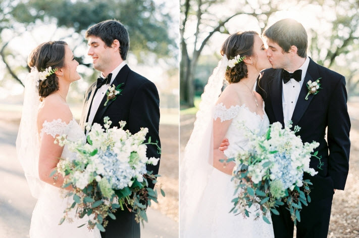 Romantic Country Club Wedding: Darby and Tommy