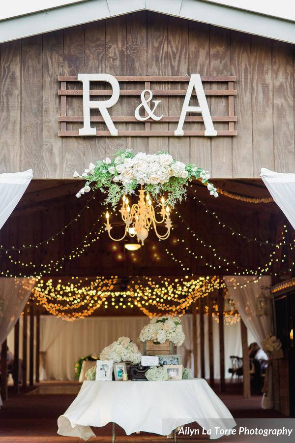 Ross and angela a rustic ranch wedding a chair affair inc for Wedding reception decoration hire