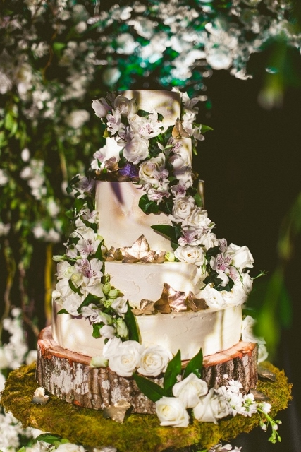 Enchanted Forest Themed Wedding Cakes