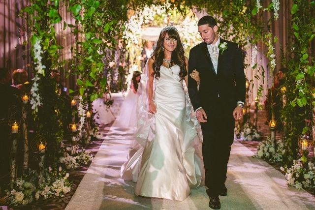 An Enchanted Forest Wedding: Jacqueline and Amir