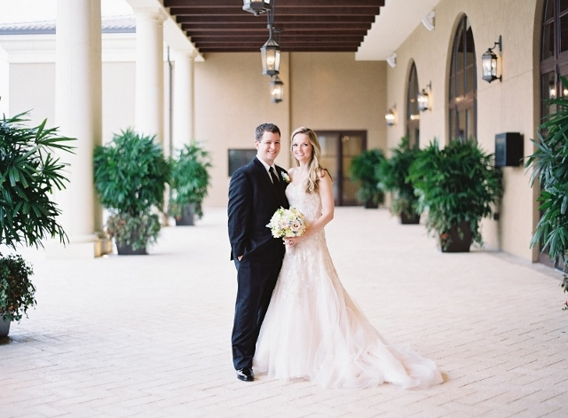 Blush and Gold Wedding at the Four Seasons