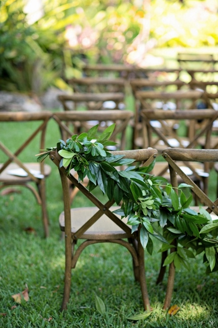 mcKee botanical garden wedding french country chairs