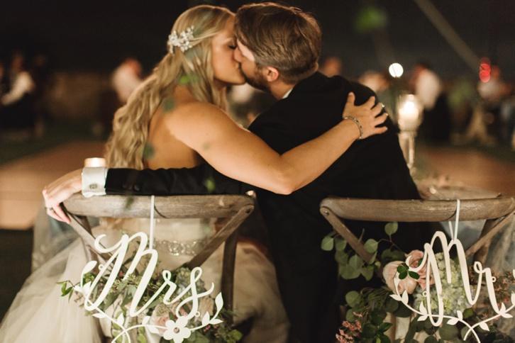 Bella Collina Romantic Garden Wedding: Erin and Aaron