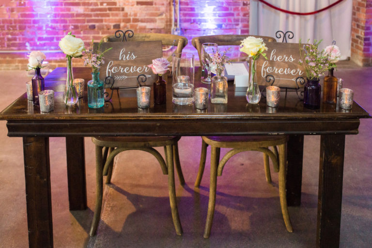wedding world changer couple table