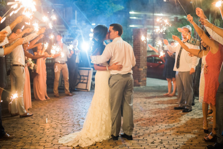 wedding world changer sparkler exit