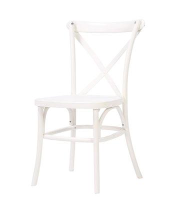 white french country chair - A Chair Affair Rentals
