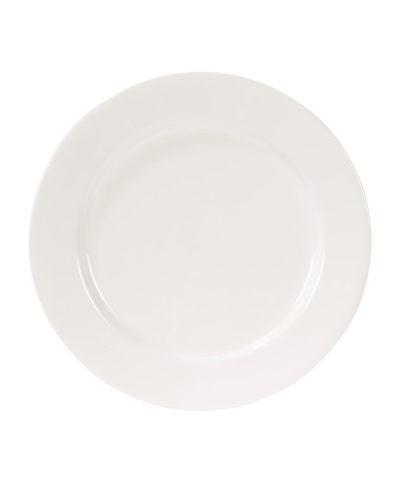 White Round Porcelain Charger – A Chair Affair Rentals