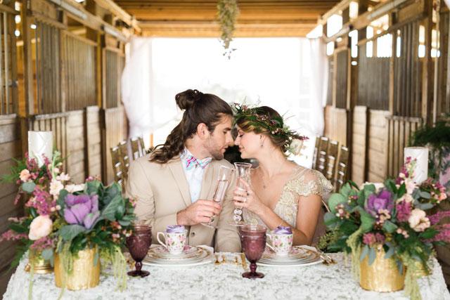 Equine Sanctuary Wedding Inspiration