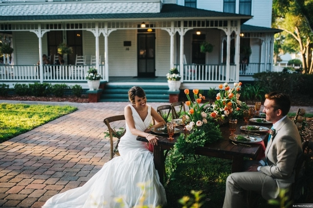 Effortlessly Elegant: A Wedding Inspired Shoot at Withers-Maguire House