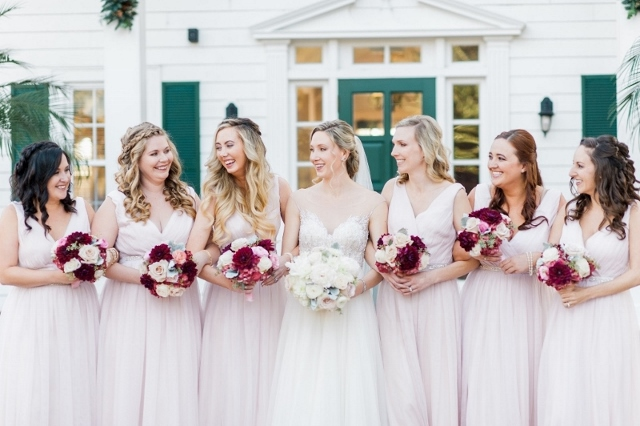 cypress grove wedding bridesmaids