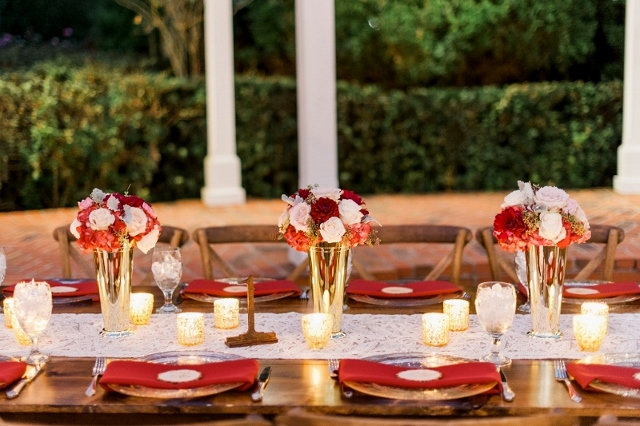 cypress grove wedding reception decor