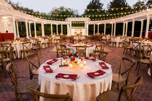 cypress grove wedding reception
