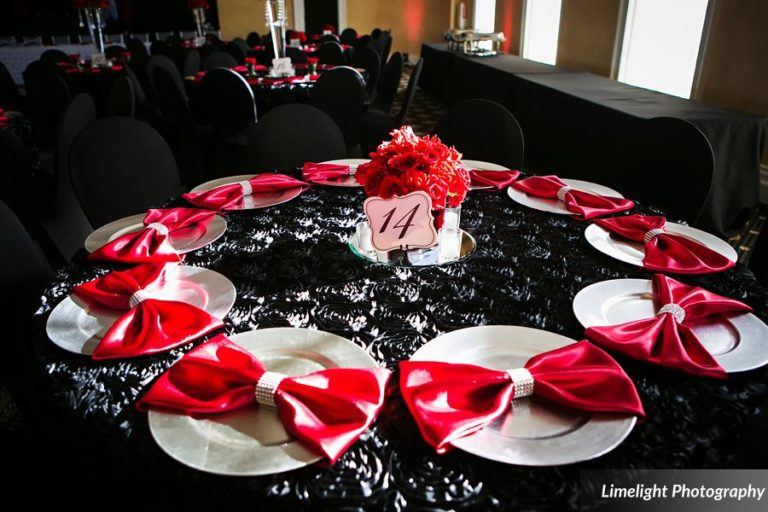 vivacious red and black mordern wedding (9)