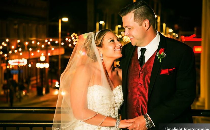 Modern Black and Red Wedding: Shaleena and Brandon