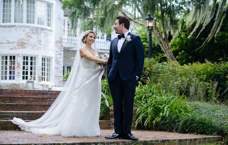 Outdoor Wedding at Peachtree House: Erin and Chase