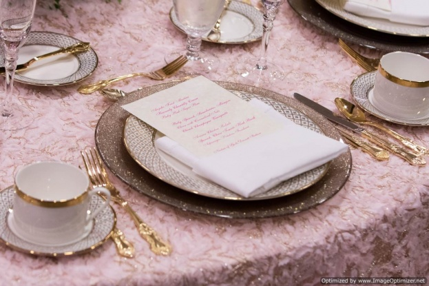 table setting basics baby shower