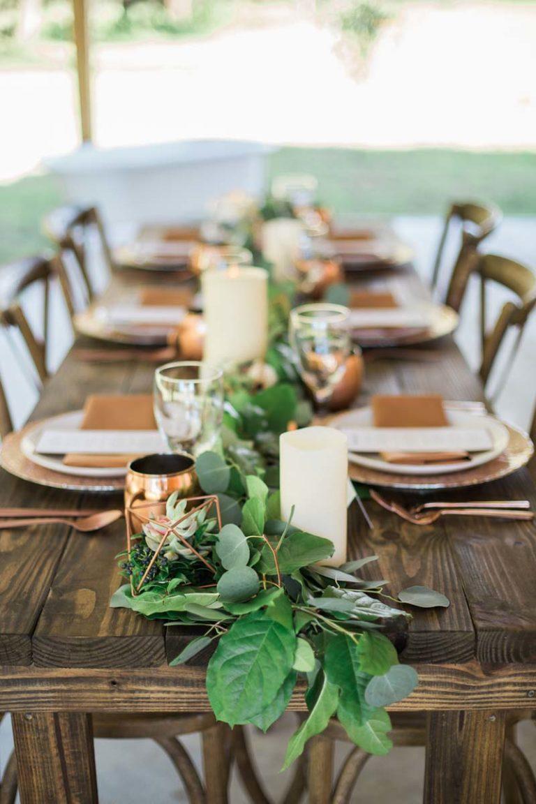 farm table decor
