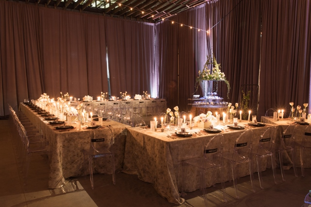 fifth annual starlit supper, decor