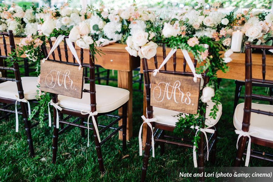 Mahogany Chiavair Chair Signs
