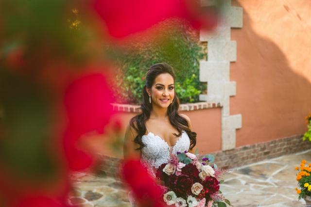 bella collina breathtaking ox blood gold wedding, bride