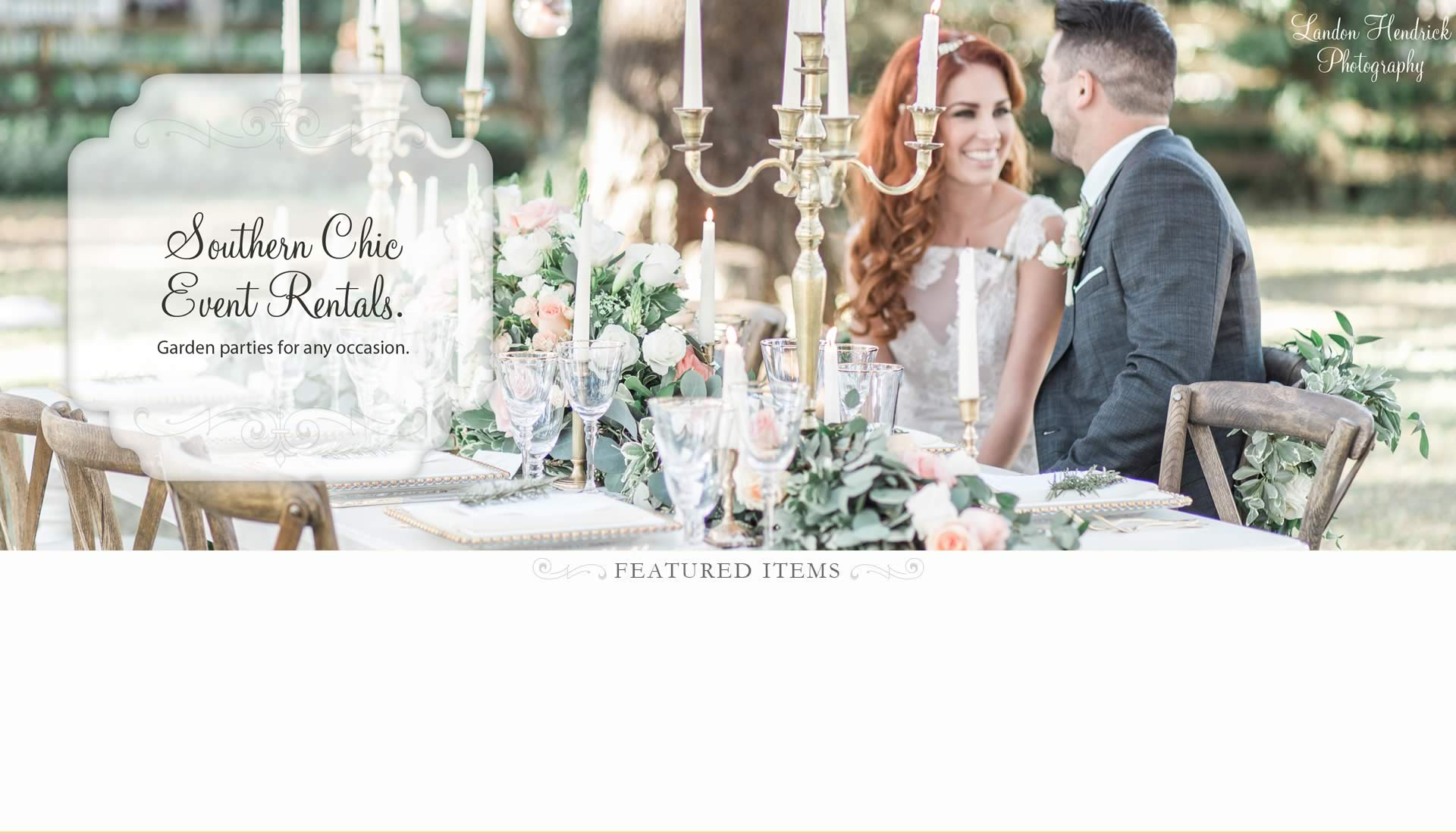 Southern Chic Event Rentals - Chair Affair Rentals