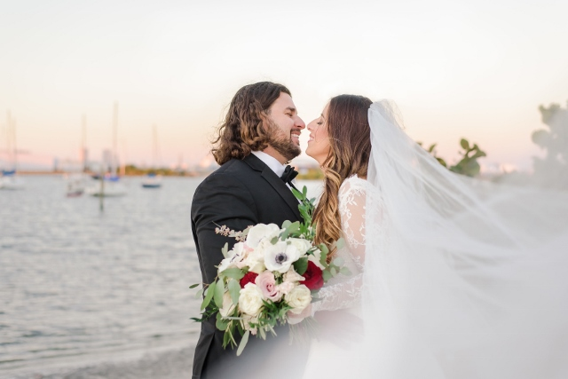 bowties and blush floridan palace wedding